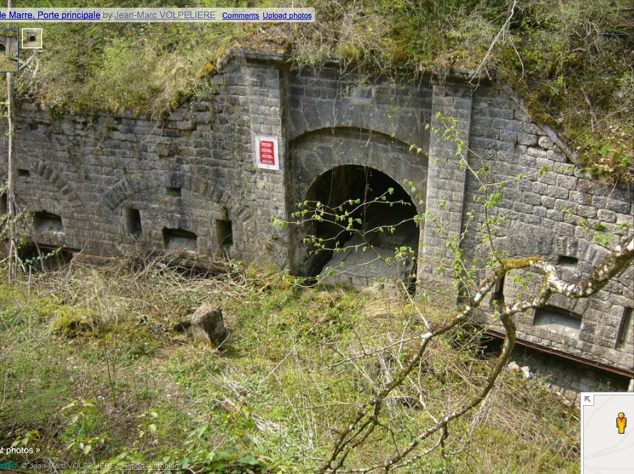 Fort du Marre, main entrance