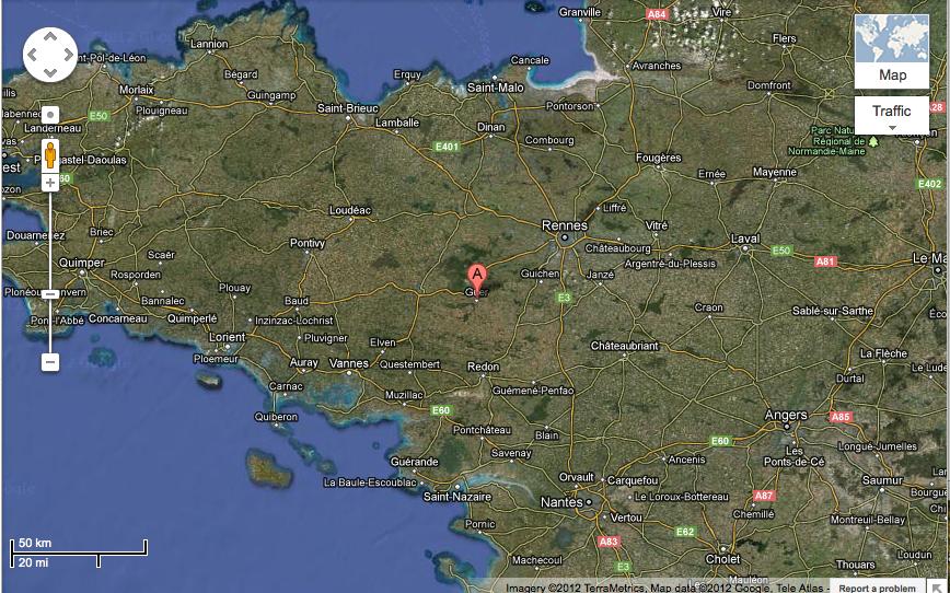 Geur map
